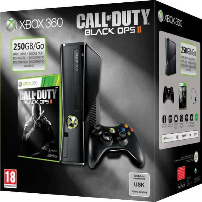 Consola Xbox 360 250 Gb   Call Of Duty Black Ops 2