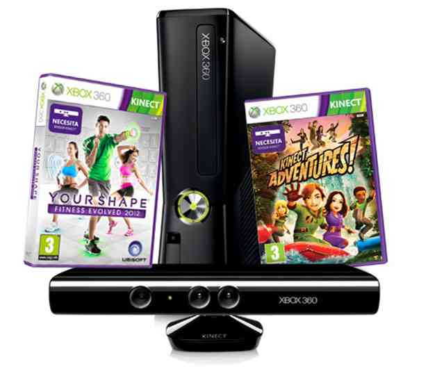 Consola Xbox 360 4 Gb Kinect Your Shape Evolved 2012