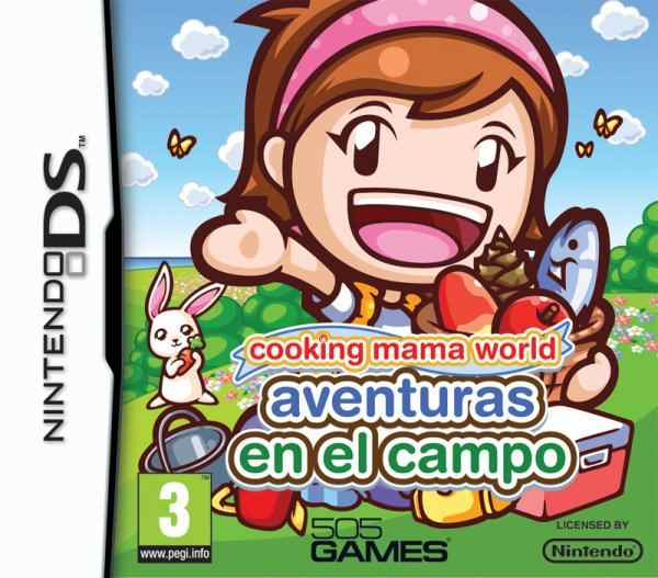 Cooking Mama World Aventuras En El Campo Nds