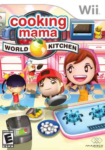 Cooking Mama World Babbysitting Wii