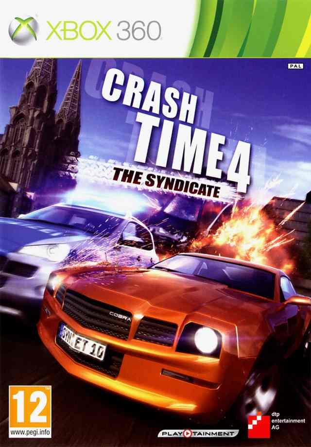 Crash Time 4 The Syndicate X360