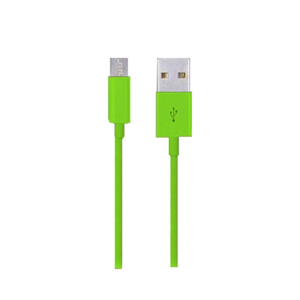 Cable De Carga Y Datos Micro Usb Color Morado Tel