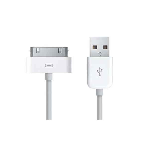 Cable De Carga Y Datos Para  I-phone Color Blanco Tel