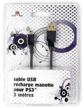 Cable USB 3M para Mando Ps3