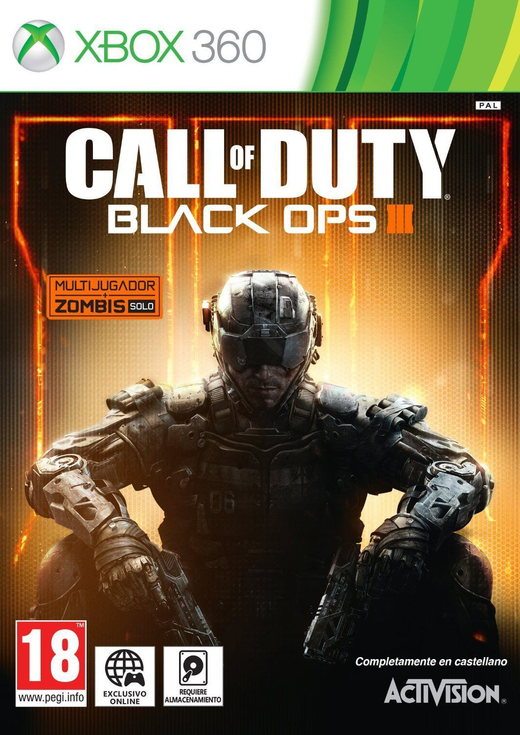 Ver Call Of Duty Black Ops III X360
