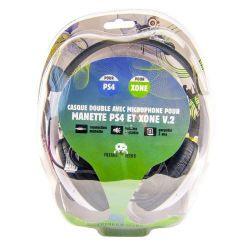 Casco con dos auriculares  Micro para Ps4 Y XONE