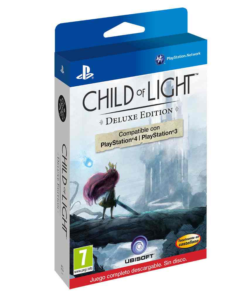 Child Of Light Descarga Ps3 Ps4 Ps3