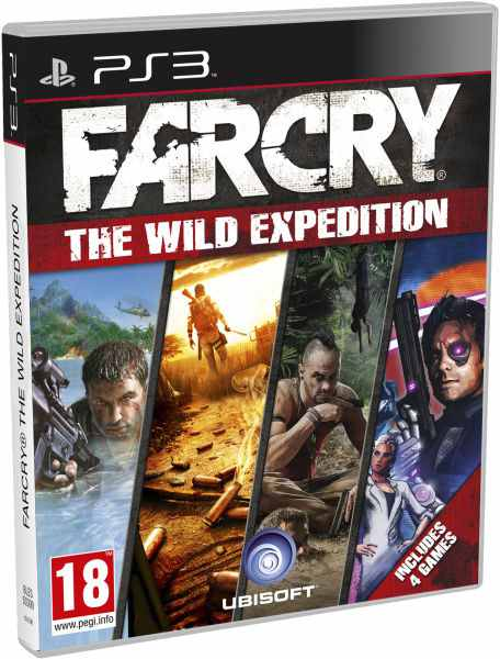 Compil Far Cry Wild Expedition Ps3