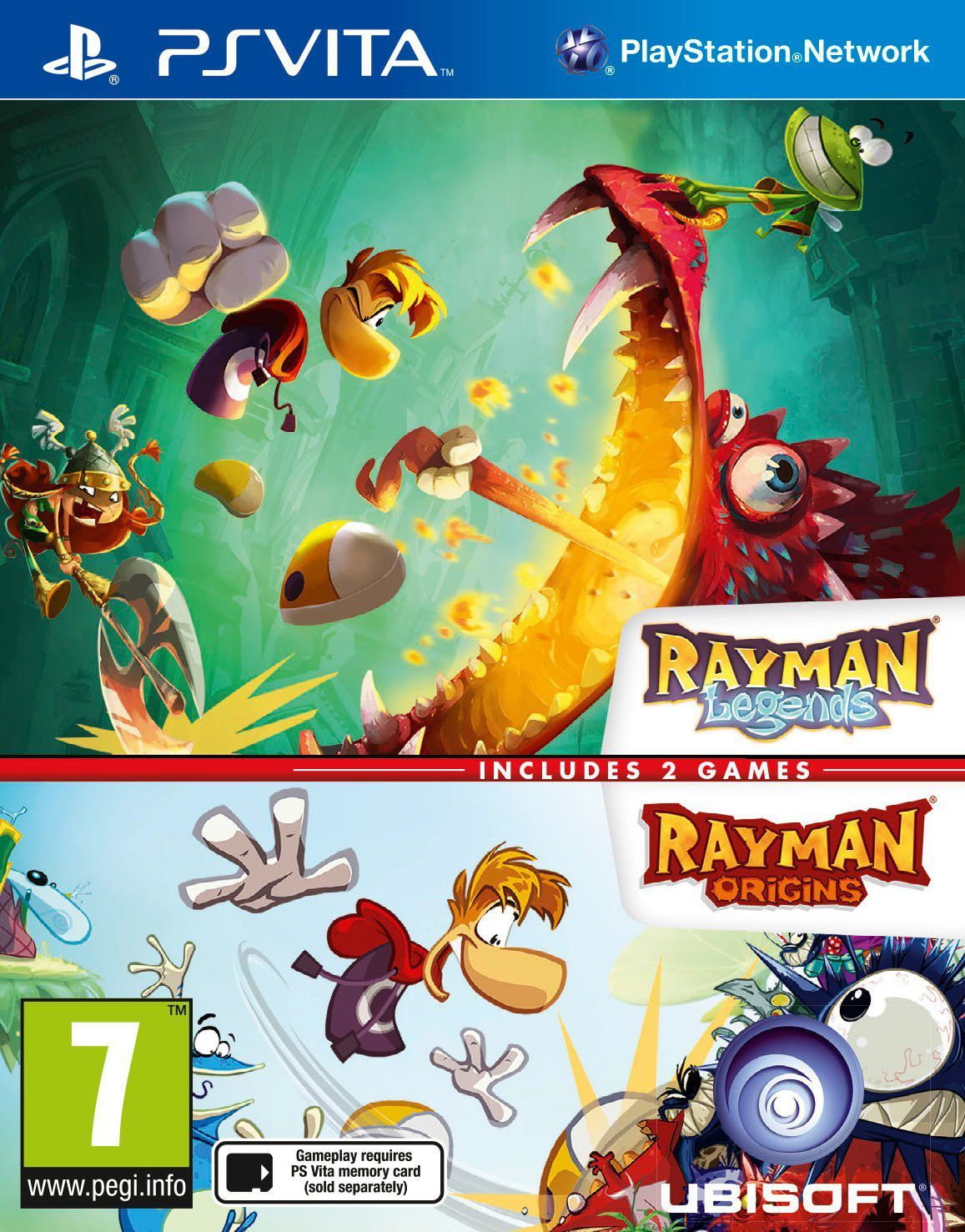 Ver Compil Rayman Legends Origins Ps Vita