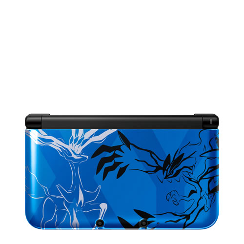 Consola 3ds Xl Pokemon Xerneas Yvetal Azul Ed Limitada