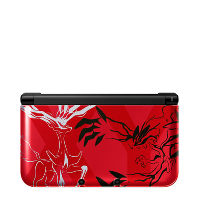 Consola 3ds Xl Pokemon Xerneas Yvetal Rojo Ed Limitada