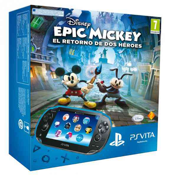 Consola Ps Vita   Epic Mickey 2