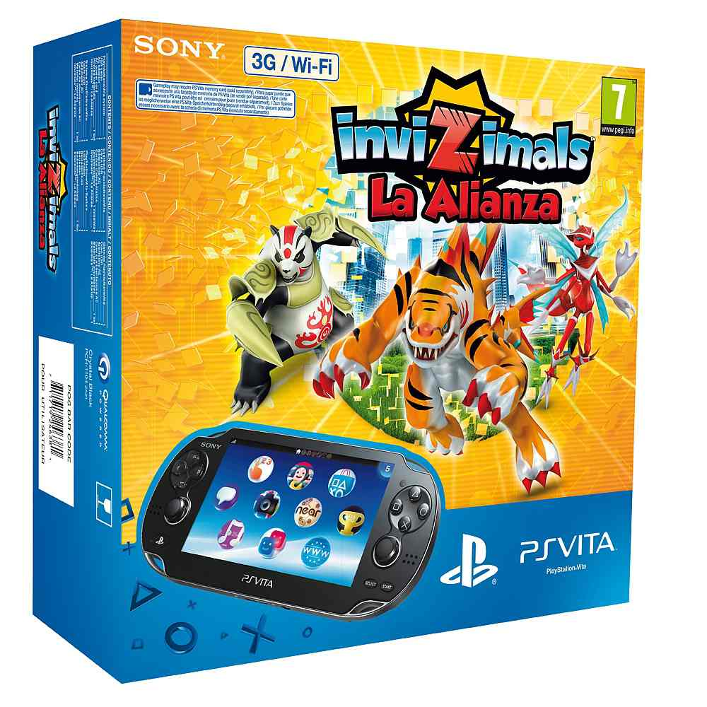 Consola Ps Vita 3g Invizimals La Alianza