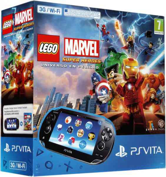 Consola Ps Vita 3g Lego Marvel Super Heroes