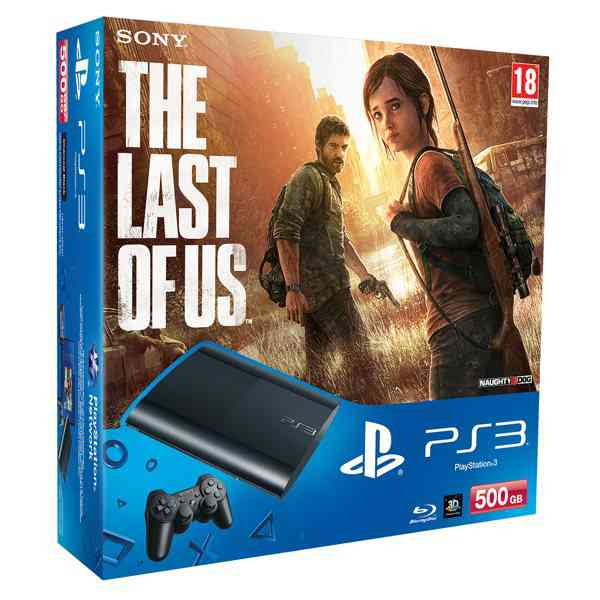 Consola Ps3 Slim 500 Gb   The Last Of Us