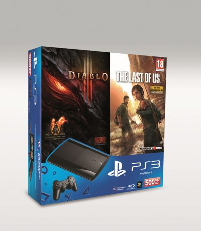Consola Ps3 Slim 500 Gb Diablo Iii The Last Of Us