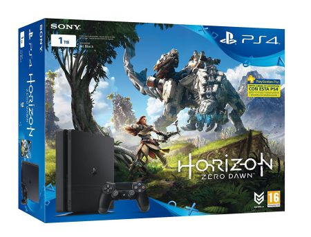 Ver Consola Ps4 1TB Slim  Horizon Zero Dawn