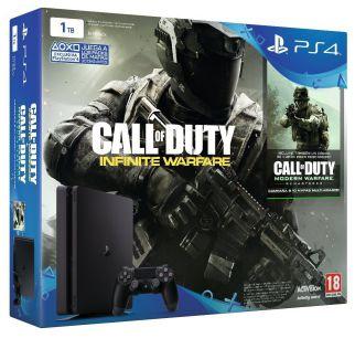 Consola Ps4 1TB Slim Call Of Duty Infinite Warfare Legacy Ed