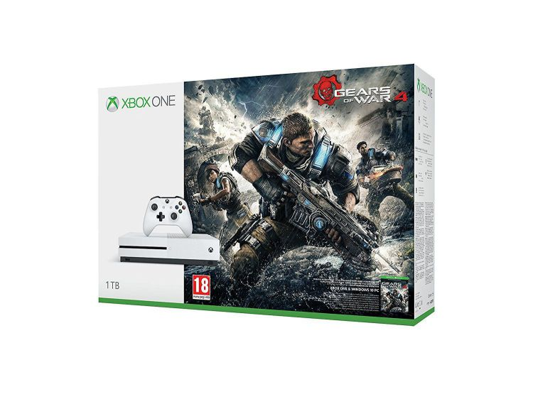 Consola Xbox One S 1TB  Gears of War 4
