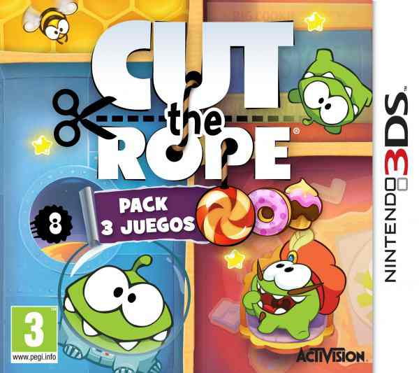 Cut The Rope Pack 3 Juegos 3ds