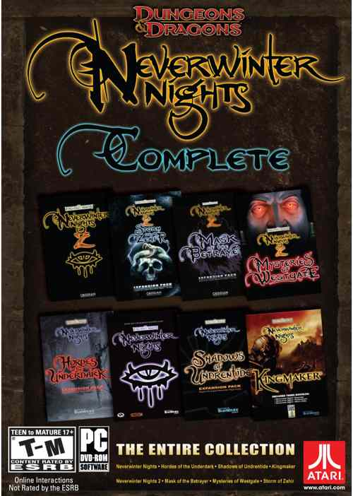 Dd Neverwinter Nights Complete Collection Pc