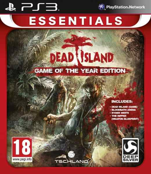Dead Island Goty Essentials Ps3
