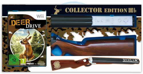 Deer Drive   Collector Rifle Wii