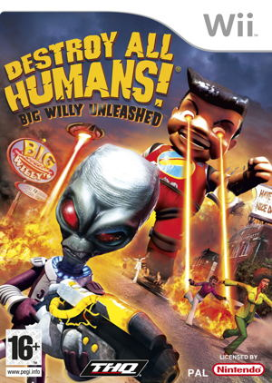 Destroy All Humans 3 Wii