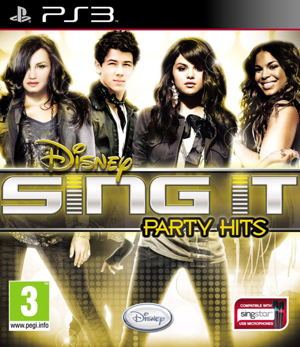 Disney Sing It 3 Party Hits   2 Micros Ps3