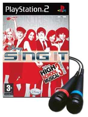 Disney Sing It Highschool Musical Micro Ps2