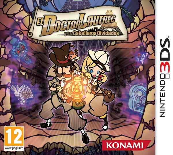 Dr Lautrec And Tf Knights 3ds