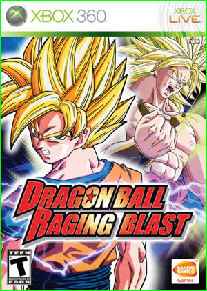 Dragon Ball Raging Blast X360