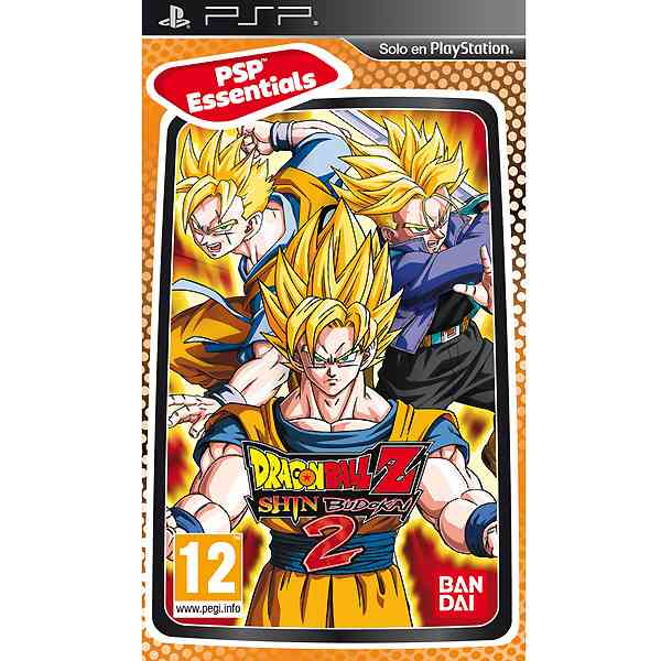 Dragon Ball Z Shin Budokai 2 Essentials Psp
