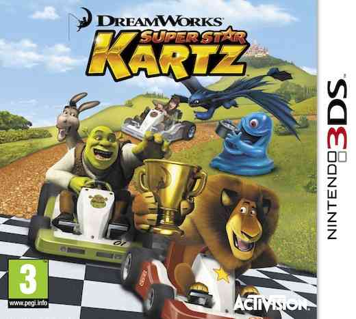 Dreamworks Racing  Sas 3ds