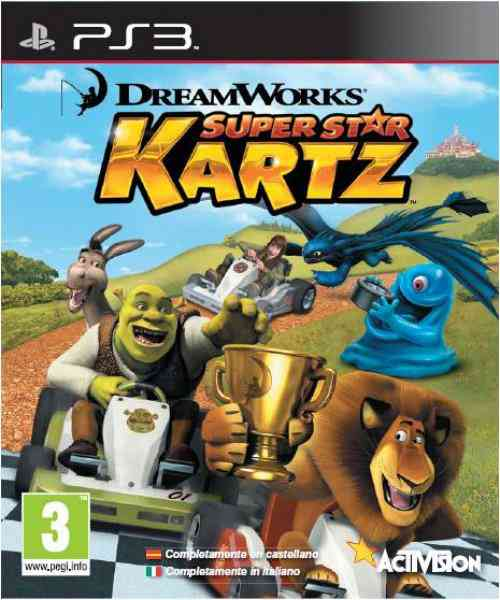 Dreamworks Racing Sas Ps3