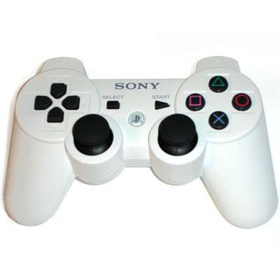 Dual Shock Controller Blanco Ps3