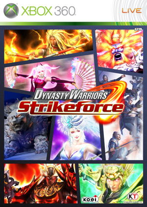 Ver DYNASTY WARRIORS STRIKEFORCE X360