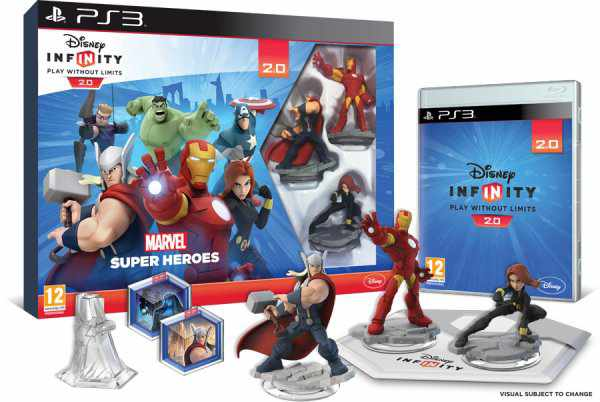 Ver Disney Infinity 20 Marvel Super Heroes Starter Pack Ps3