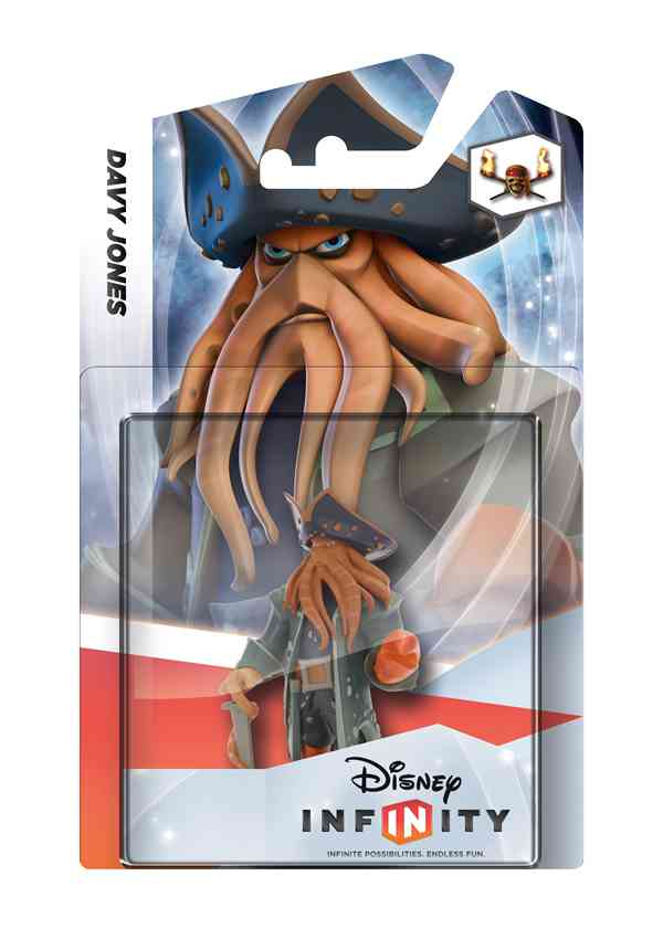Disney Infinity Figurita Davy Jones Piratas Del Caribe