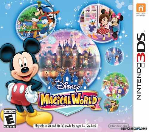 Ver Disney Magical World 3Ds