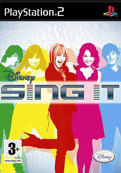 Disney Sing It Highschool Musical 3 Ps2