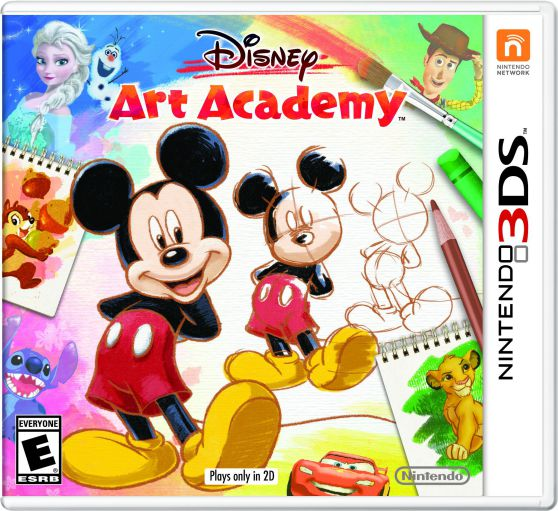 Ver Disney Art Academy 3Ds