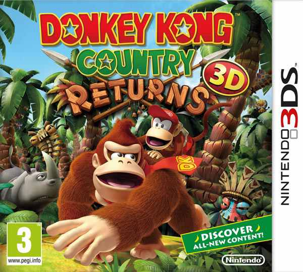 Ver Donkey Kong Country Returns 3Ds