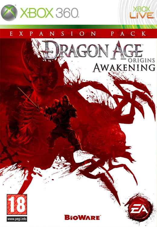 Dragon Age Origins Awakening X360
