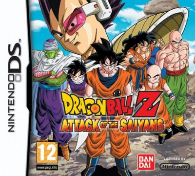 Dragonball Z Attack Of The Saiyans Nds