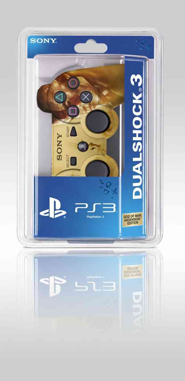 Dual Shock Controller Edic Espec God Of War Ascension Ps3