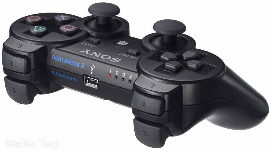 Dual Shock Controller Negro Sony Ps3