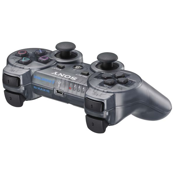 Dual Shock Controller Slate Grey Ps3