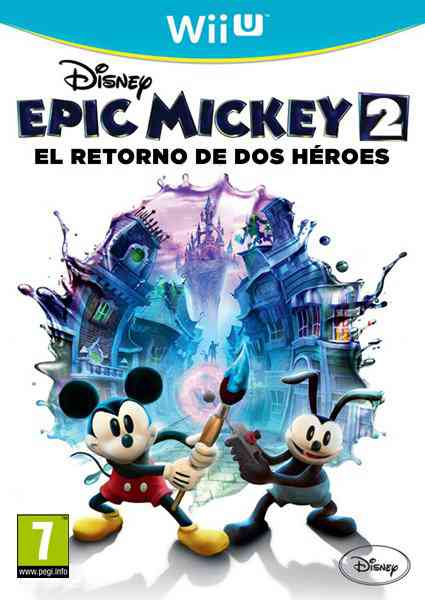 Ver EPIC MICKEY 2 THE POWER OF TWO WII U