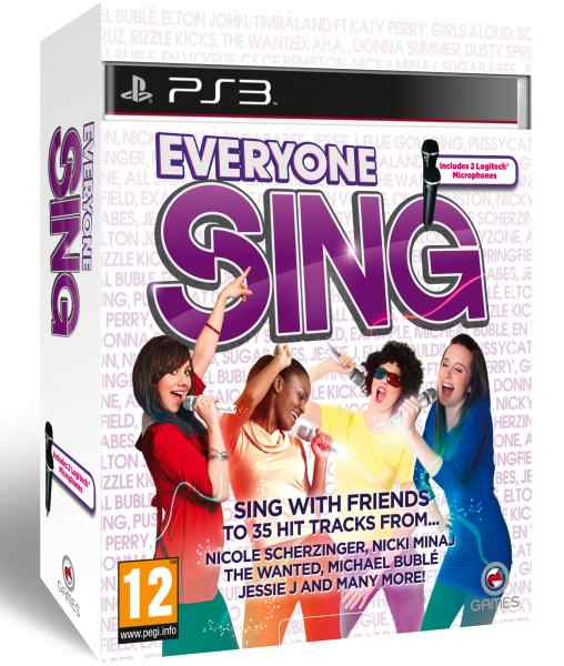 Everyone Sing 1 Mic Pack  Ps3